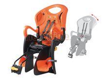 sedačka TIGER RELAX, černo oranžový